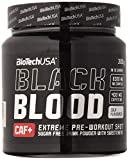 Biotech Black Blood Caf+ Óxidos Nítricos y Energéticos Arándano Azul - 300 gr