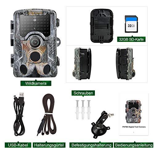 Crenova HC1000 20 MP Wildkamera mit 32 GB SD Card Erfahrungen & Preisvergleich