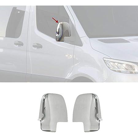 Se adapta a 2006-2017 para Mercedes Sprinter W906 ABS cromado espejo cubre manija de puerta S.St