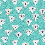 Pingianer Jersey Stoff Koala Meterware 9,69€/m² 94%
