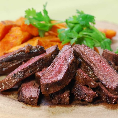 Australian Wagyu Beef Outside Skirt Steaks, MS3 - 2 skirts,...