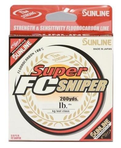 Sunline 63038902 Super FC Sniper 3 Lb. Super FC Sniper, Natural Clear,...
