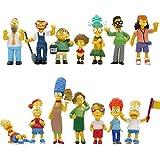 シンプソンズ アクションフィギュア おもちゃ ケーキトッパーコレクション プレイセット 14ピース