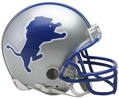 Riddell Detroit Lions Throwback 1983-2002 VSR4 Mini Football Helmet - Fanatics Authentic Certified