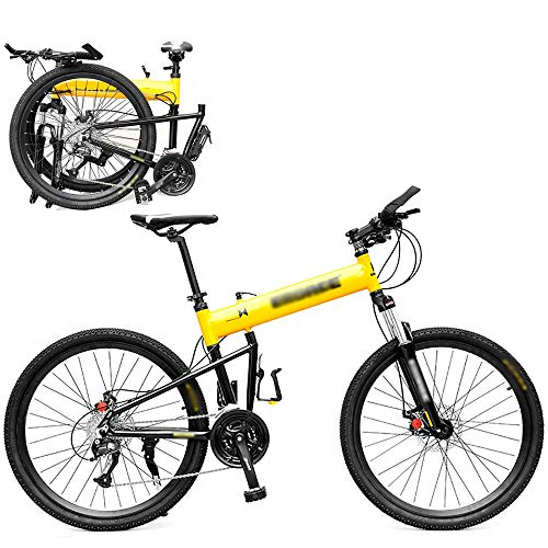 HHHKKK Mountain Bike Pieghevole Mini Bici Pieghevole Leggera da 26/29 Pollici, 27 Speed, 30 Speed Bicicletta Studente per Adulti Piccola Bicicletta Portatile, Uomini e Donne in Generale