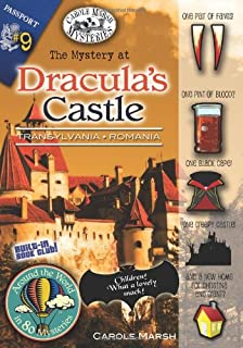 The Mystery at Dracula's Castle (Transylvania, Romania) (9) (Around the World In 80 Mysteries)