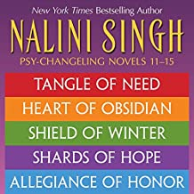 Nalini Singh: The Psy-Changeling Series Books 11-15 (Psy-Changeling Novel, A)