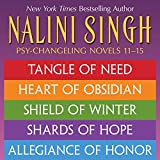 Nalini Singh: The Psy-Changeling Series Books 11-15 (Psy-Changeling Omnibuses) (English Edition)