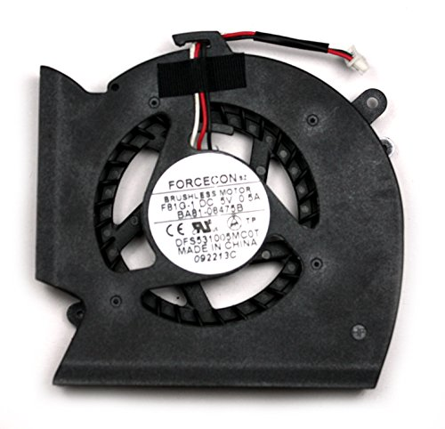 Power4Laptops Ventilador para Ordenadores portátiles Compatible con Samsung NP-R540-JA02