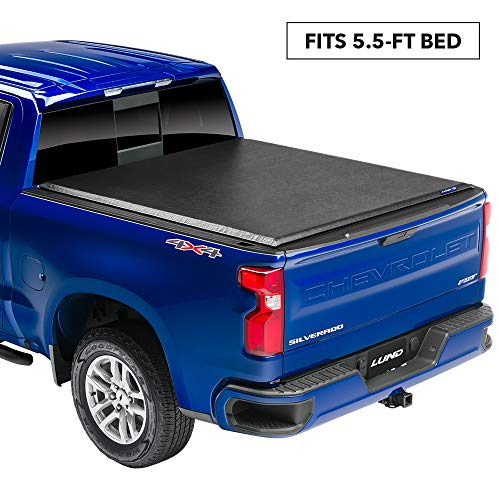 Lund 960120 Genesis Roll Up Truck Bed Tonneau Cover for 2007-2014 Toyota Tundra | Fits 5.5' Bed