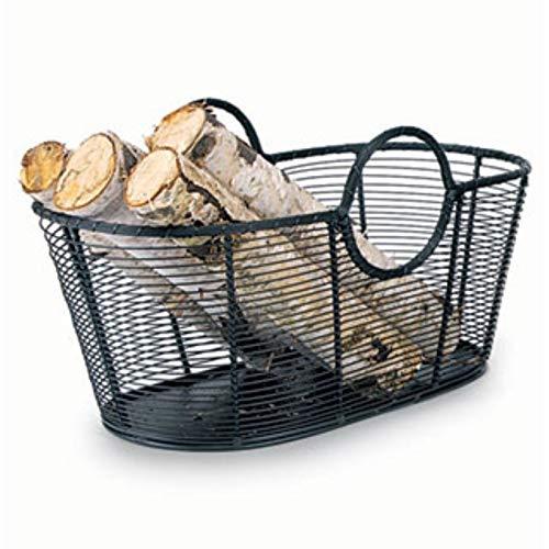 Best Deals! I_SL Minuteman International Handwoven Steel Woodbasket