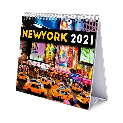 Grupo Erik Tischkalender New York - Tischplaner 2021, CS21011