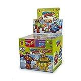 SuperThings Serie 3, Display con Colección Completa de 8 Robots y 8 Figuras , PSZ3D068IN02, Color y...