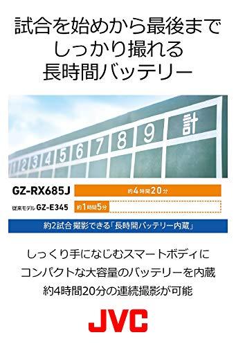 JVC『ハイビジョンメモリームービー(GZ-RX685J)』