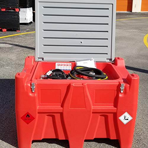 Portable Fuel Tank 116gl Gasoline and Diesel