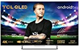 TCL 55C727, 55 Pollici QLED TV, 4K UHD, Smart Android TV con Motion Clarity 100Hz e Audio Onkyo