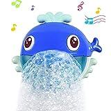 aovowog Badewannenspielzeug,Baby Spielzeug Badespielzeug,Seifenblasen Badespielzeug mit 20 Reinen...