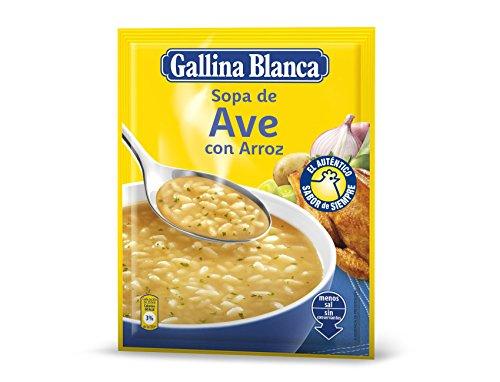 Gallina Blanca - Sopa de ave con arroz - 80 g