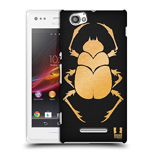 Head Case Designs Escarabajo Iconos de Egipto Antiguo Carcasa rígida Compatible con...