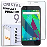 REY Protector de Pantalla para ZTE Blade A506, Cristal Vidrio Templado Premium