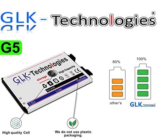 High Power Ersatzakku für LG G5 / H850 Dual SIM H860N LTE BL-42D1F | Original GLK-Technologies Battery | accu | 2950mAh Akku | 2020 B.j