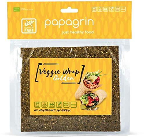 Gemüsetortilla Wraps glutenfrei golden BIO 100 g - PAPAGRIN