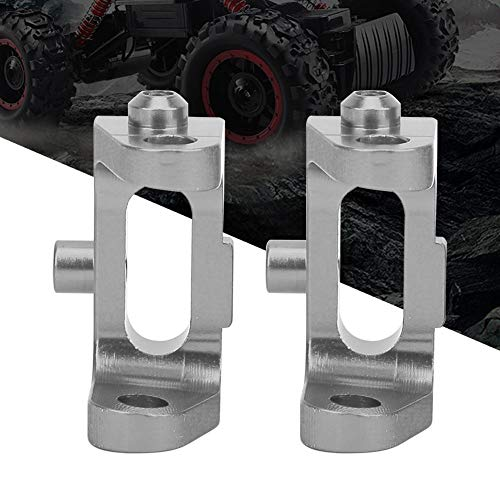 Wosune FrontC Car Accessories 1/10 FrontCaster Block Metal Toy(Silver)