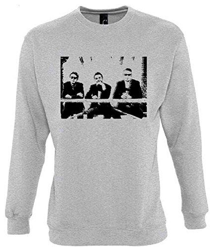 Depeche Mode Funny Mens & Ladies / Herren & Damen Unisex Sweatshirts (M