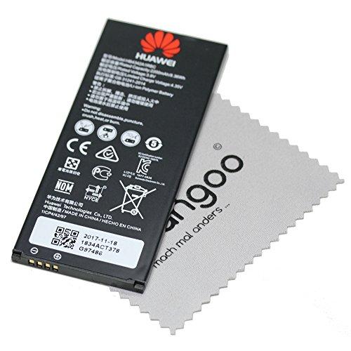 Batería para Original Huawei HB4342A1RBC LiIon Huawei Y6 Y5 II Honor 4A Y6 con mungoo Pantalla paño de Limpieza