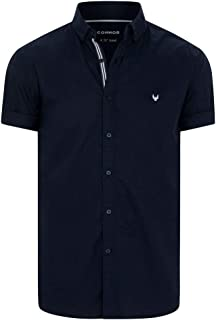 Connor Men's Phoenix Shirt Short Sleeve Classic Tops Sizes XS-3XL Affordable Quality with Great Value