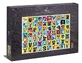 Ulmer Puzzleschmiede - Puzzle Collage de Perros - Puzzle de 1000 Piezas - Collage de Fotos con 80 alegres Retratos de Perros