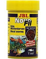 JBL Suplemento alimenticio Peces acuáticos, Larvas Rojas, NovoFil