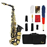 ammoon Saxophon Eb e-flat Hoch Messing Gravur Tasten Shell des