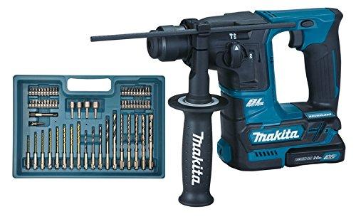 Makita HR166DSAE1 rotary hammers 680 RPM - Martillo perforador (1,6 cm, 680 RPM, 1,1 J, 4800 ppm, 1 cm, 1,3 cm)