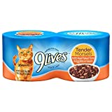 9Lives Tender Morsels With Real Flaked Tuna & Egg Bits In Sauce Wet Cat Food, 5.5-Ounce Cans (Pack Of 24)