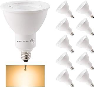 共同照明 「10個セット」LEDスポットライト E11 50w形相当 ハロゲン電球 電球色 (GT-SP-6WW-E11-7-10B) LEDビーム電球 ハロ ゲン形 JDRΦ50 LEDライト ホワイト ランプ led照明