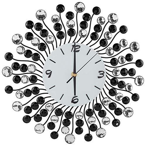 Wandklok, niet-tikkende quartz decoratieve klok met bling diamant (zonder batterij) - kwaliteit is onze cultuur
