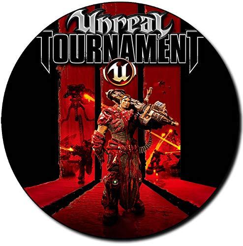 Unreal Tournament 3 Alfombrilla Redonda Round Mousepad PC