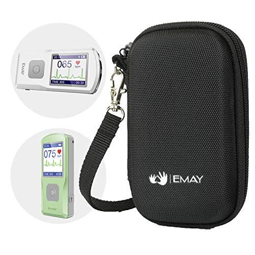 emay Hard Fall/, der Fall für emay Tragbarer EKG-Monitor