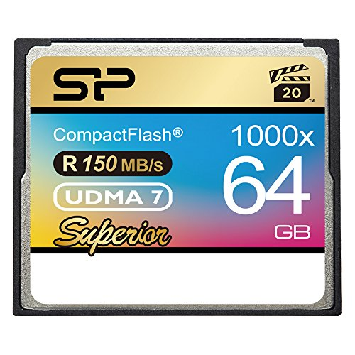 Silicon Power 64GB 1000x Compact Flash memoria flash CompactFlash