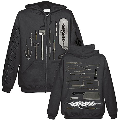 CARCASS - Tools - Kapuzenjacke / Zipper Größe S