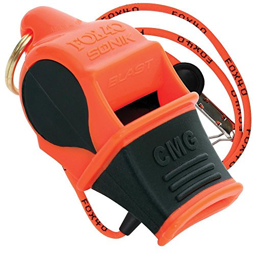 Fox 40 Sonik Blast whistle (orange black)