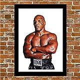 Mike Tyson Poster encadré