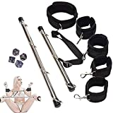 UDEAO BÐŚṂ Bed Ḅöndāge Réštrãîňt Kit for Šé&x Bọndạgẹromãncé Réštrãîňt Kit Toy with Adjustable Straps Indoor Sport Fitness Equipment Training Tools Set Relax Toy