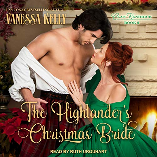 The Highlander's Christmas Bride audiobook cover art