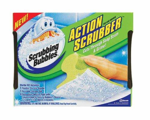 Scrubbing Bubbles Action Scrubber