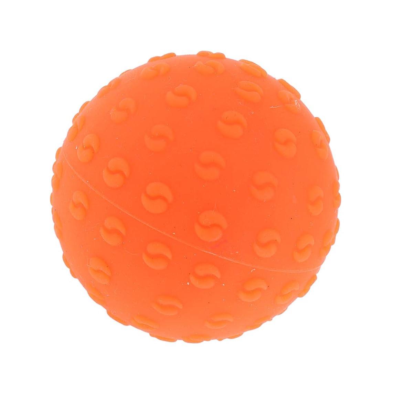教会窒素誤解を招くCUTICATE マッサージボール 指圧ボール シリコーン トリガーポイント 足底筋膜炎 ヨガ マッサージ器 全6色 - オレンジ, 説明のとおり