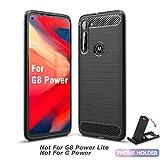 SCL Moto G8 Power Case Motorola G8 Power Case, [Black]