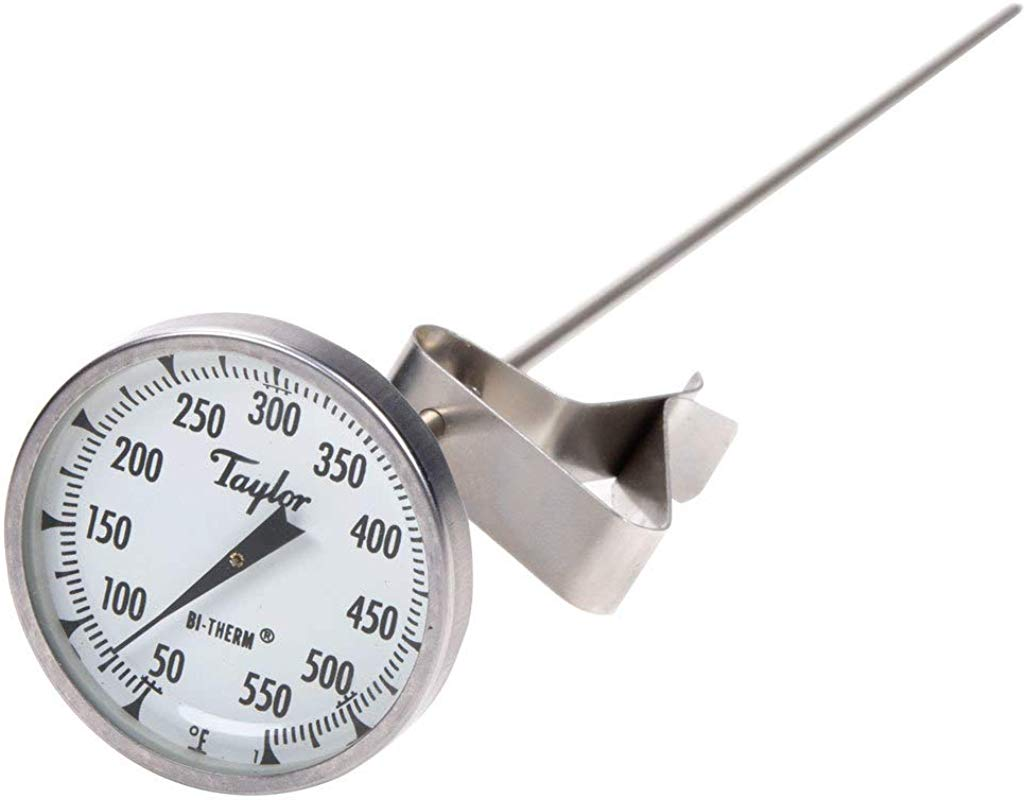 Taylor Precision 6084J12 Candy Deep Fry Thermometer W 12 Stem