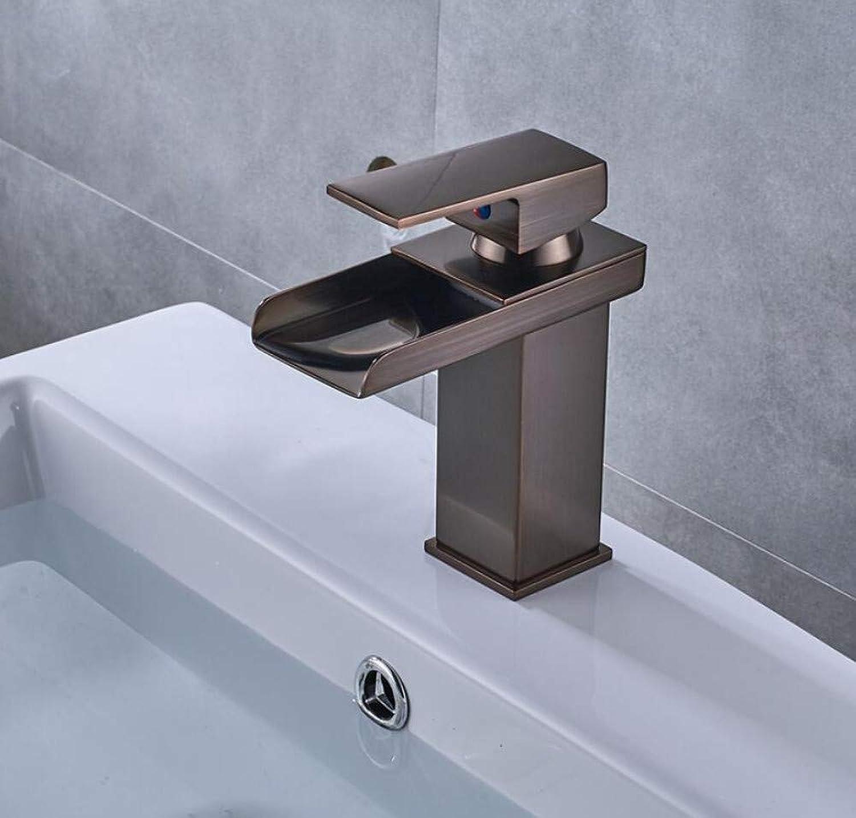 Wasserhahn Waschbecken Becken Wasserhahn Rotes l Eingerieben Bronze Finish Wasserhhne Aufsatzmischer-Wasserhhne